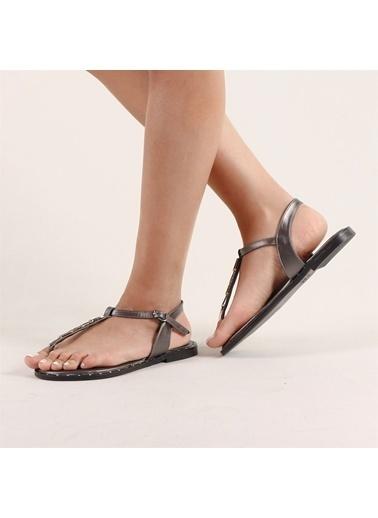 Hammer Jack Platin Kadın Terlik / Sandalet 200 44-181028-Z Gri